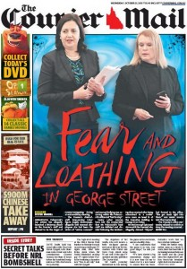 The Courier Mail: October 21, 2015 - Fear and Loathing In George Street.