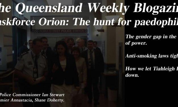 Taskforce Orion – The Queensland Weekly Blogazine: @Qldaah #qldpol