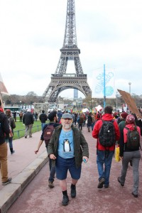 John Englart reporting from Paris for Nofibs