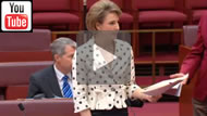 Senator Michaelia Cash reads the FEG Amendment 2014 bill for a second time.