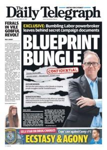 The Daily Telegraph - Blueprint Bungle, May 26, 2016.