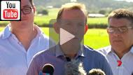 7 News: Strong Abbott-Turnbull Govt: George Christensen's Tony Abbott dream comes true.