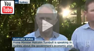 ABC News 24: Malcolm Turnbull says the government is slowly bringing down the structural deficit.