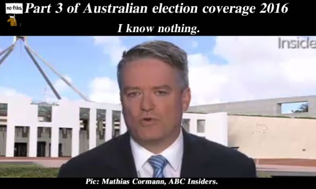 Part 3 of NoFibs Australian election coverage 2016: @Qldaah #ausvotes #auspol #qldpol
