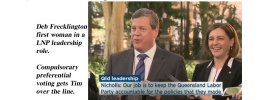 Qld LNP makes strong choice in Tim Nicholls as new leader.