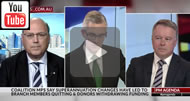 Sky News - Take it up with the Treasurer: Arthur Sinodinos says superannuation not discussed.