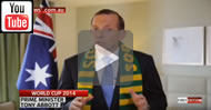 """From 2014 Sky News - Mile Jedinak pronounced as """"Mike"""": PM Tony Abbott gets Socceroos skipper's name wrong."""