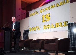 John Hewson speaking at Solar Citizens Forum in Wentworth