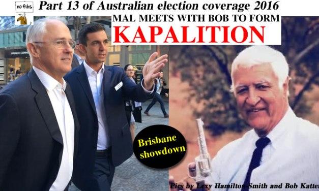 Part 13 of NoFibs Australian election coverage 2016: @Qldaah #ausvotes #auspol #qldpol