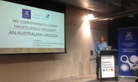 Proving Commonwealth Legal negligence and the #Auspol #climate targets – @takvera