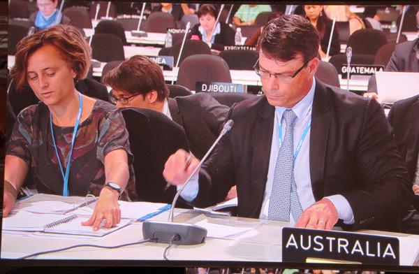 Australia's climate ambassador Patrick Suckling at COP22