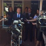 Colin Barnett says there is no such thing as clean coal. Photo: Tom Rabe/twitter