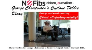 George Christensen's Cyclone Debbie diary