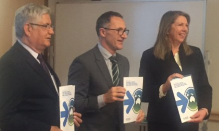 Tripartisan #Auspol launch of #ClimateHealthStrategy in Canberra reports @takvera