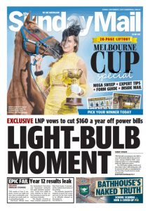 October 5, 2017 The Sunday Mail - Light-Bulb Moment