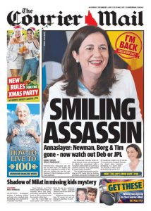December 09, 2017 The Courier Mail - Smiling Assassin