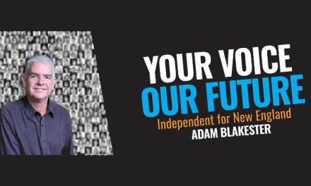 Adam Blakester taking on Barnaby Joyce: @CharliCaruso #NewEnglandVotes #podcast