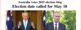Election date called for May 18