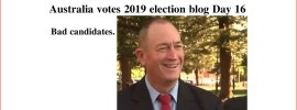 Australia votes 2019 election blog Day 16