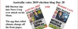 Australia votes 2019 election blog Day 28