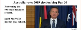 Australia votes 2019 election blog Day 30