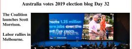 Australia votes 2019 election blog Day 32