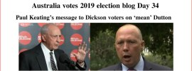 Australia votes 2019 election blog Day 34