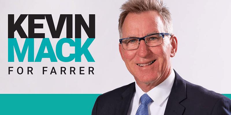 Kevin Mack believes Farrer deserves more than a 'BYO Australia': @margokingston1 #FarrerVotes #podcast
