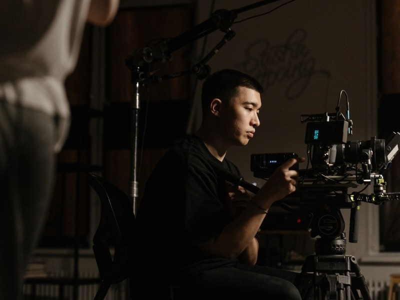 What is a key grip?
