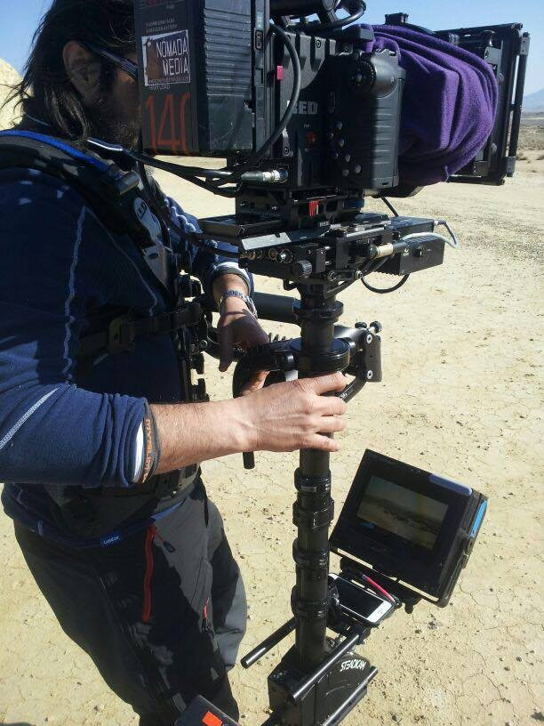 Shot Assistant App Mounted on Steadicam
