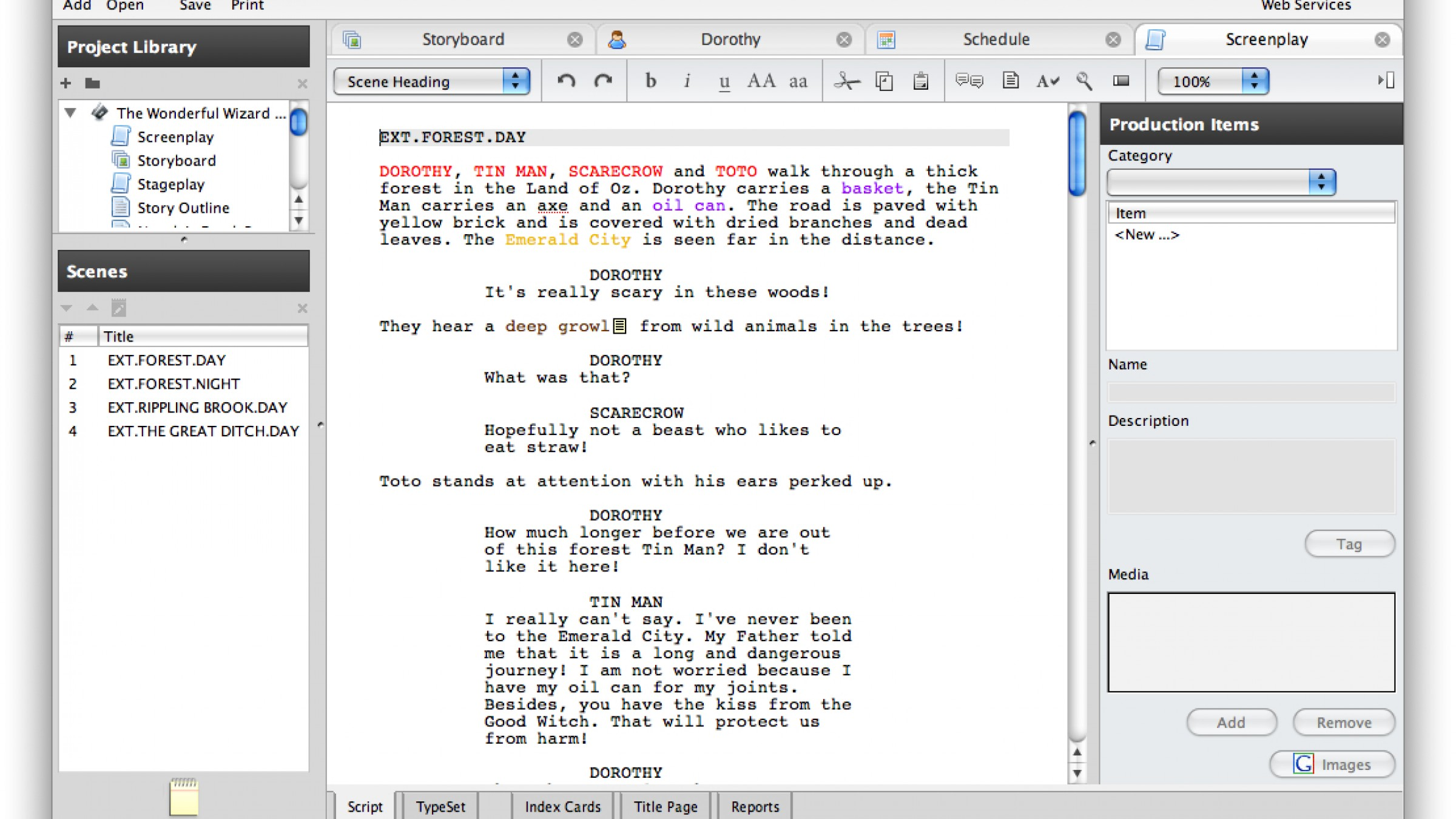 Five Screenwriting Software Applications Under 50 And