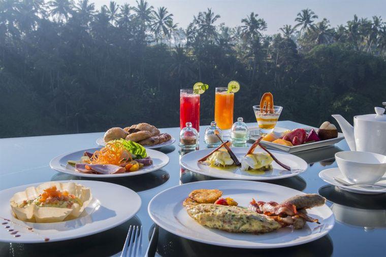Viceroy Bali Breakfast