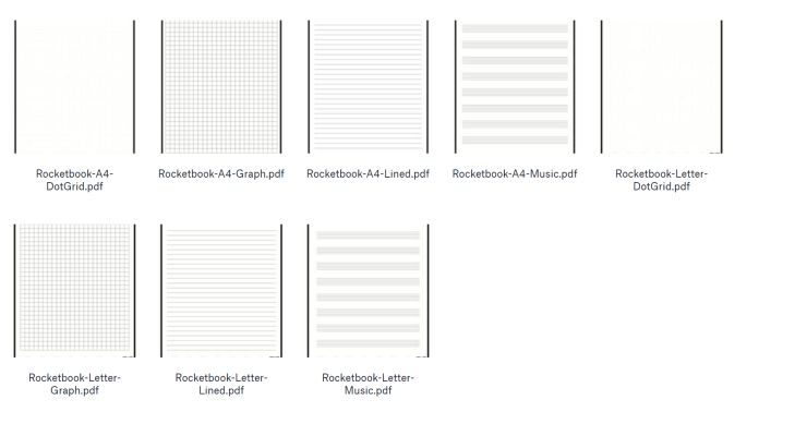 Satisfactory image for rocketbook printable pages