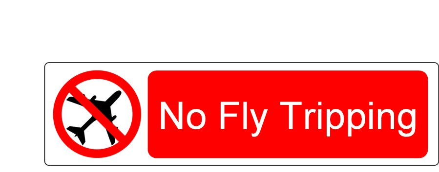 No Fly Tripping sign