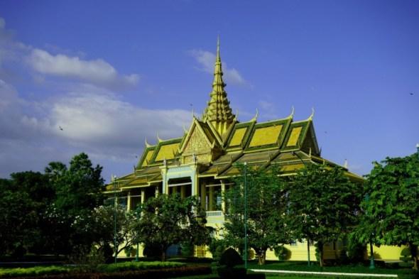 Phnom Penh Silver Pagoda building