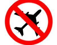 No fly tripping logo