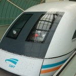 Flying – sort of…..Shanghai's Maglev train