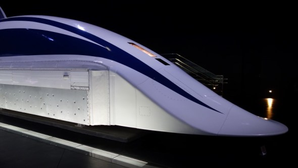 The MLX01 Maglev held until recently the world record for highest speed train at 581km/h