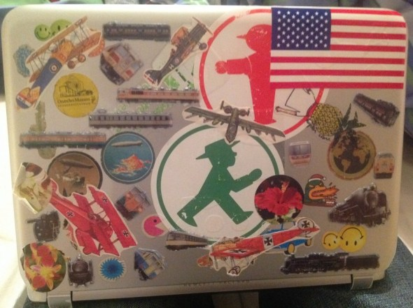 My decorated laptop