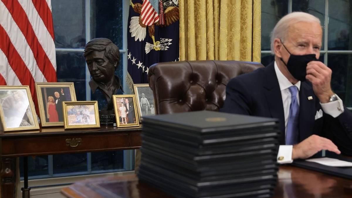 César Chávez en la Oficina Oval