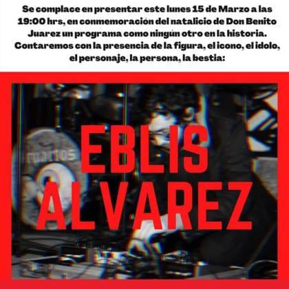 Eblis Alvarez