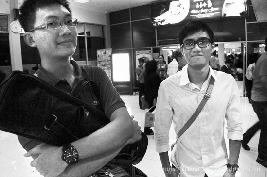 ASEAN Youth Cultural Camp 2011 Delegates. Tan Qing Lun and Norhaizard Adam