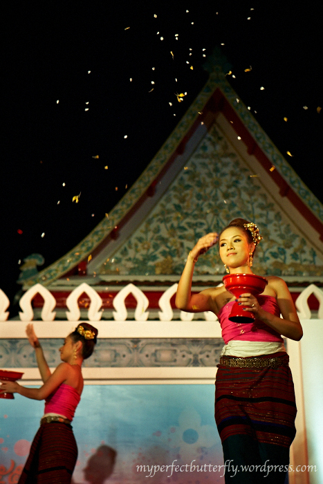 Flower Dance, Thai, Traditional Dance, Songkran