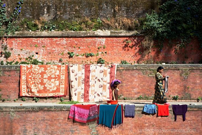 Kathmandu, Washing, No Foreign Lands, Jamie Chan, Travel Blogger
