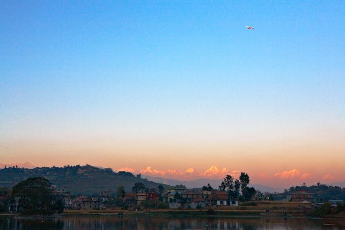 Kathmandu, Plane, Jamie Chan, No Foreign Lands, Travel Blogger