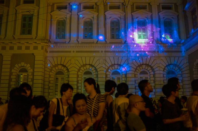 Singapore Night Festival 2013, Lights, National Museum