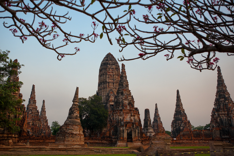 Ayutthya, Thailand, Temple, Jamie Chan, No Foreign Lands, Travel Blog, Beauty