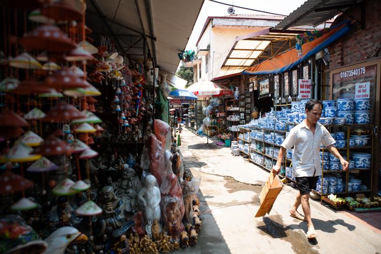 Bát Tràng Pottery Village, Hanoi, Vietnam, Jamie Chan, No Foreign Lands, Travel Blogger