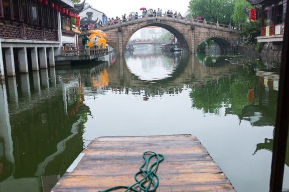 Qi Bao, Shanghai, Jamie Chan, No Foreign Lands, Travel Blog, water town, boat ride