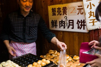 Qi Bao, Shanghai, Jamie Chan, No Foreign Lands, Travel Blog, food street, leica, pastry